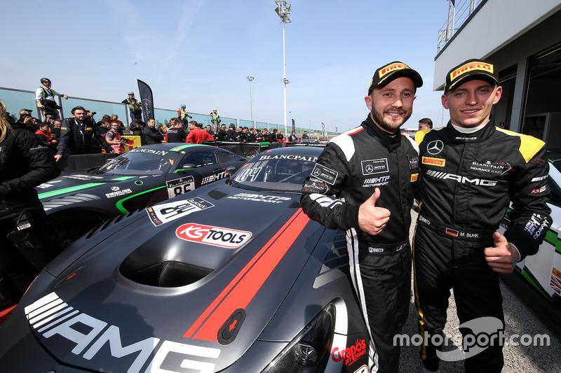 1. #84 Mercedes-AMG Team HTP Motorsport, Mercedes-AMG GT3: Maximilian Buhk, Franck Perera