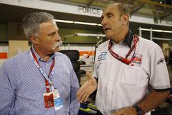 Chase Carey, Liberty Media, con Bruno Michel, GP2 Series