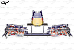 Red Bull RB5 2009 Silverstone nose