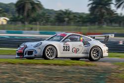 #333 Speed Lover Porsche 991 GT3 Cup: Mitch Gilbert, Phillipe Richard, Jean-Michel Gérôme