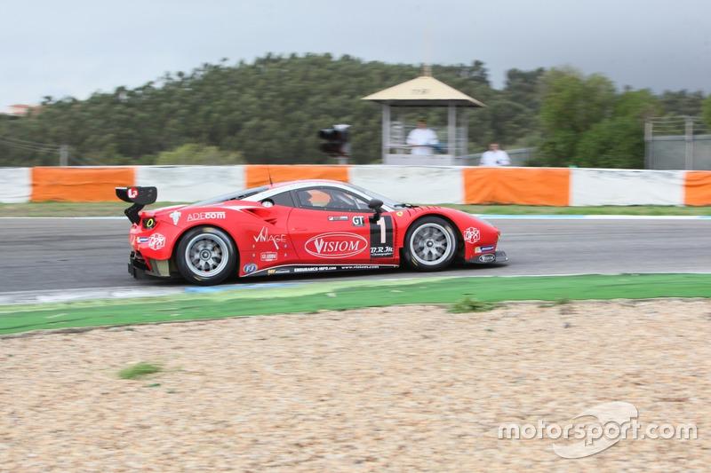 #1 Ferrari 488 GT3 - Visiom : Jean-Paul Pagny, Thierry Perrier, Jean-Bernard Bouvet