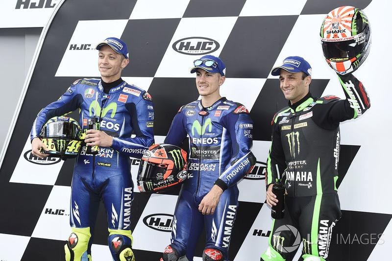 Yamaha kuasai baris terdepan MotoGP Perancis