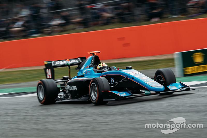 Arjun Maini (GP3 Silverstone)
