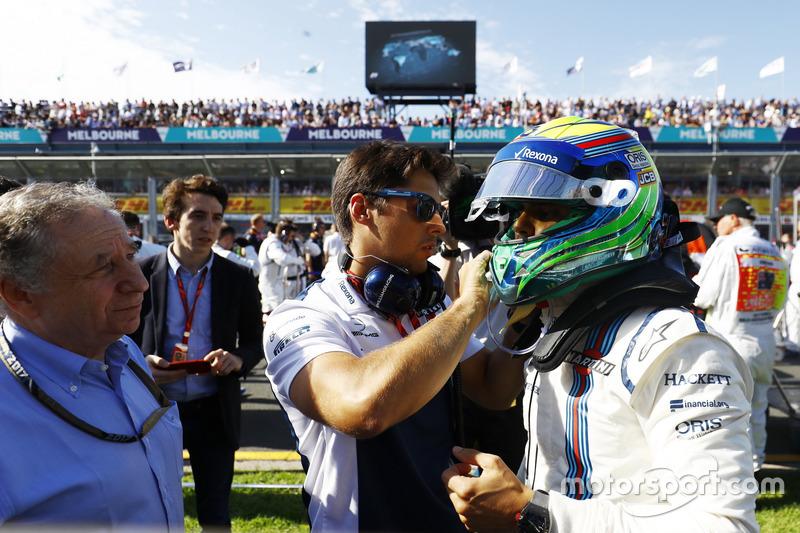 Startaufstellung: Felipe Massa, Williams