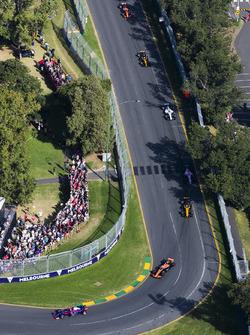Даниил Квят, Scuderia Toro Rosso STR12, Фернандо Алонсо, McLaren MCL32, Нико Хюлькенберг, Renault Sp