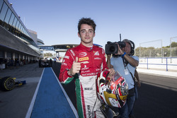 Charles Leclerc, PREMA Powerteam, décroche la pole position