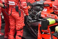 Kimi Raikkonen, Ferrari SF70H, il motore