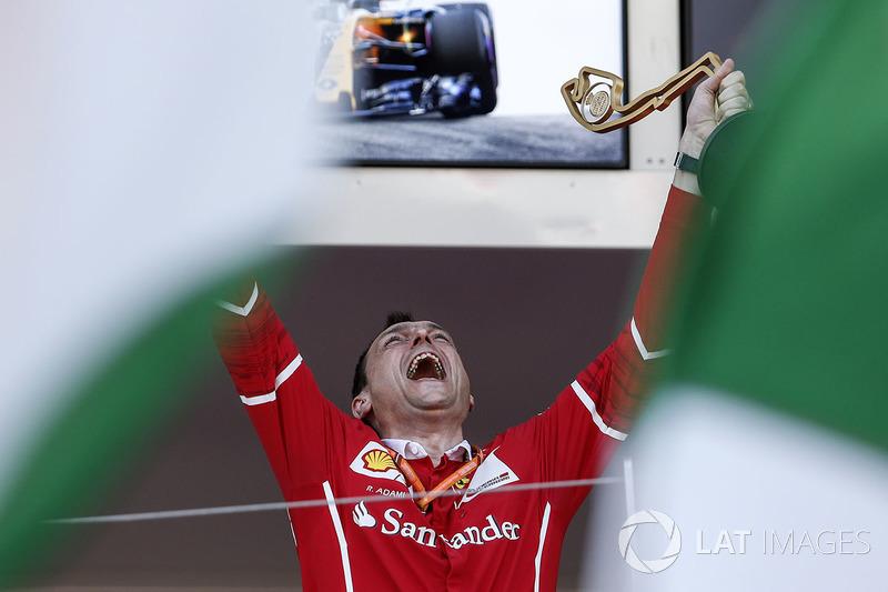 Гоночний інженер Ferrari Ріккардо Адамі