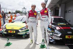 Mike Rockenfeller, Audi Sport Team Phoenix, Audi RS 5 DTM, René Rast, Audi Sport Team Rosberg, Audi