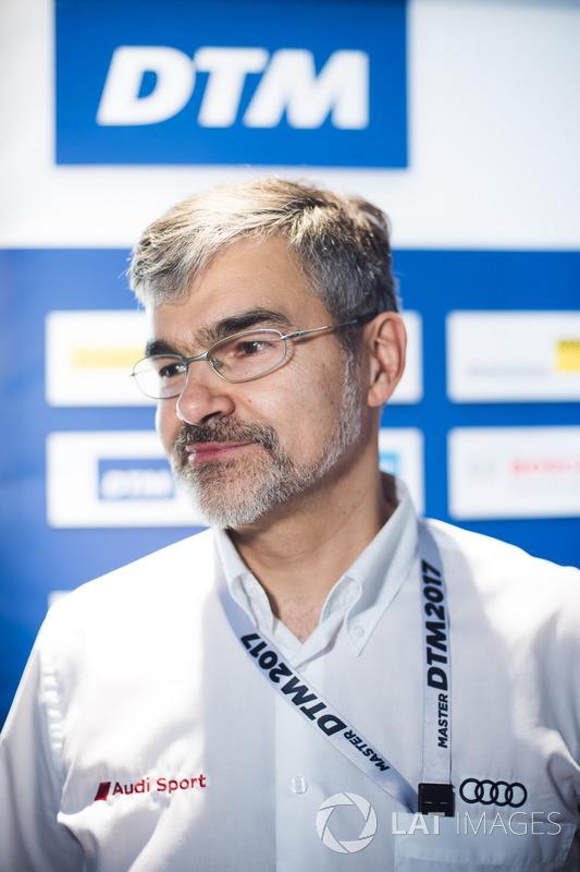 Дітер Гасс, керівник DTM Audi Sport