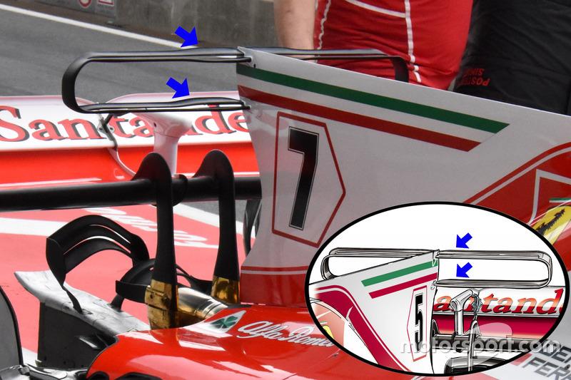 Ferrari SF70H, t-kanat