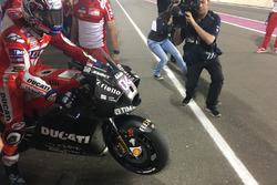 Andrea Dovizioso, Ducati Team, carena