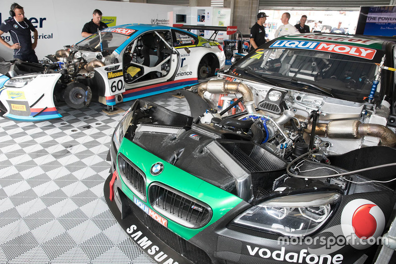 #7 BMW Team SRM, BMW M6 GT3, #60 BMW Team SRM, BMW M6 GT3