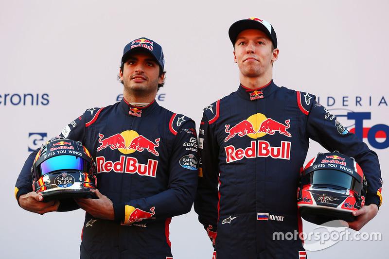 Даниил Квят и Карлос Сайнс, Scuderia Toro Rosso