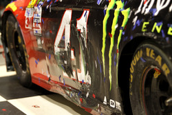 Car detail of Kurt Busch, Stewart-Haas Racing Ford