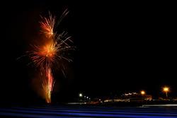 Feuerwerk am Circuit Paul Ricard in Le Castellet