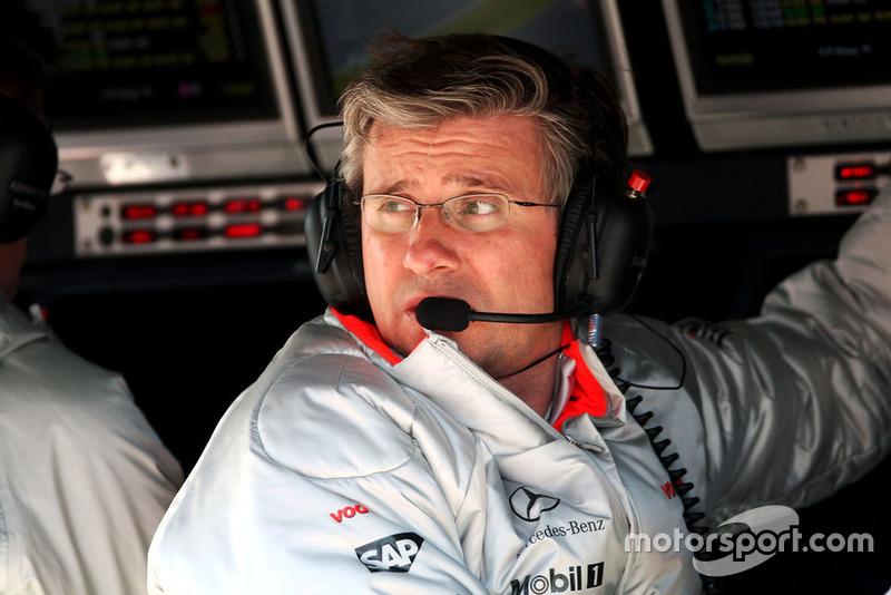Pat Fry, McLaren Ingeniero Jefe