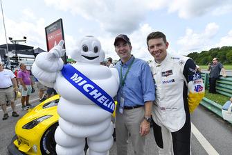 #4 Corvette Racing Chevrolet Corvette C7.R, GTLM - Tommy Milner, and Ralph Northam, Governor of Virginia.