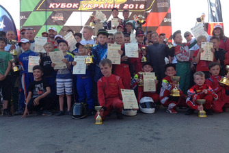 Другий етап Кубку України національних класів з картингу