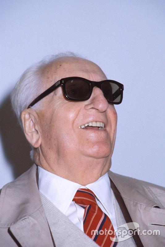 Enzo Ferrari en 1984
