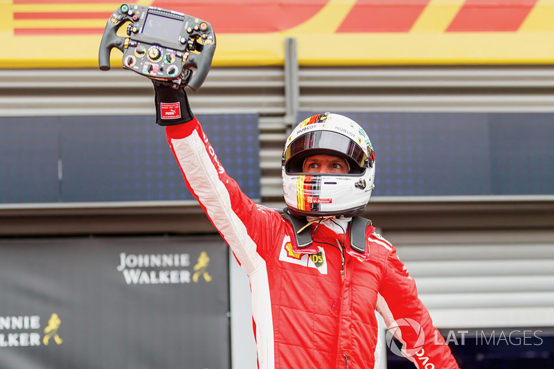Vainqueur : Sebastian Vettel (Ferrari)