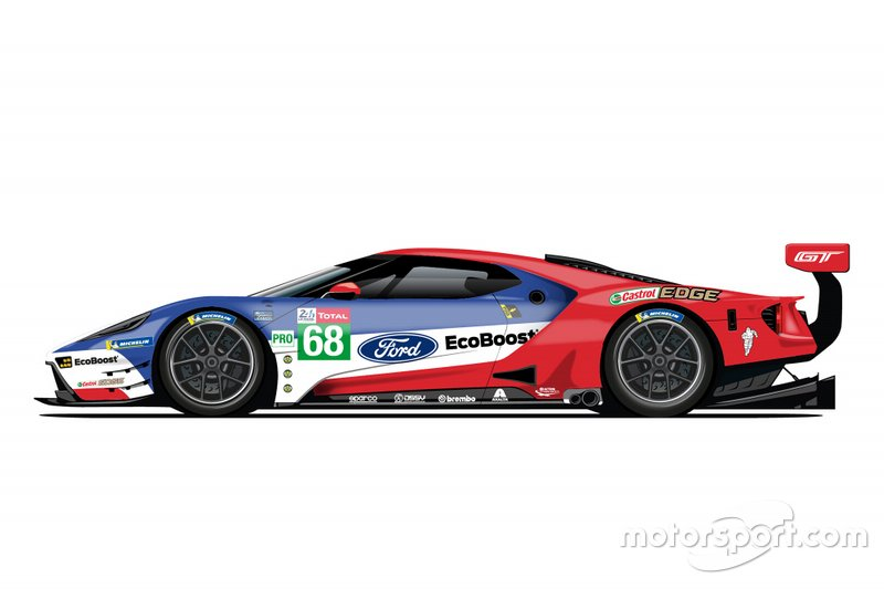 Ford GT livery #68
