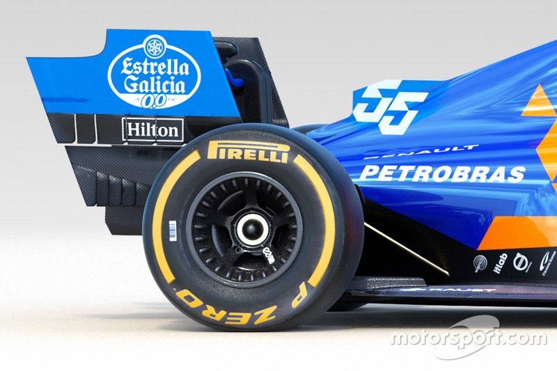 Detalles del McLaren MCL34