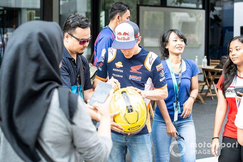 Marc Marquez, Repsol Honda Team visitó Indonesia el fin de semana