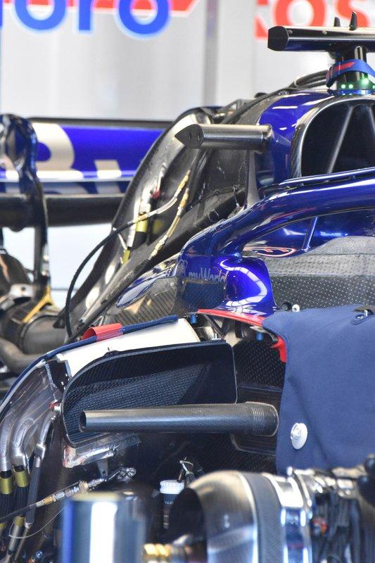 Detail bodywork Scuderia Toro Rosso STR14