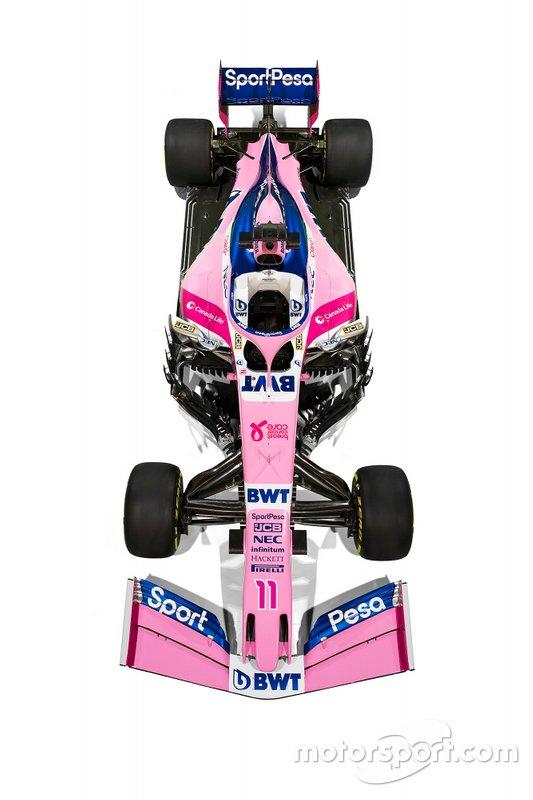 Livrea Racing Point 2019