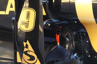 Escape del Lotus Renault GP R31