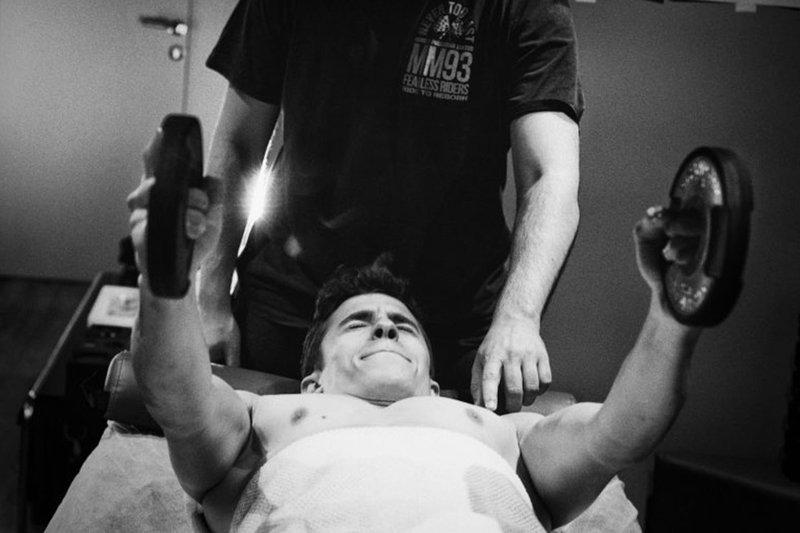 Marc Marquez rehabilitatie