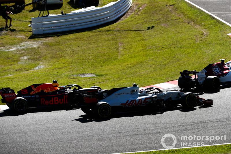 Кевін Магнуссен, Haas F1 Team VF-18, Даніель Ріккардо, Red Bull Racing RB14