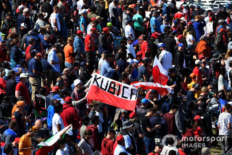 Bendera Robert Kubica, Williams