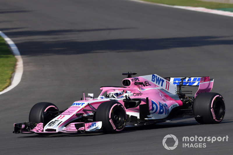10. Sergio Perez, Racing Point Force India VJM11
