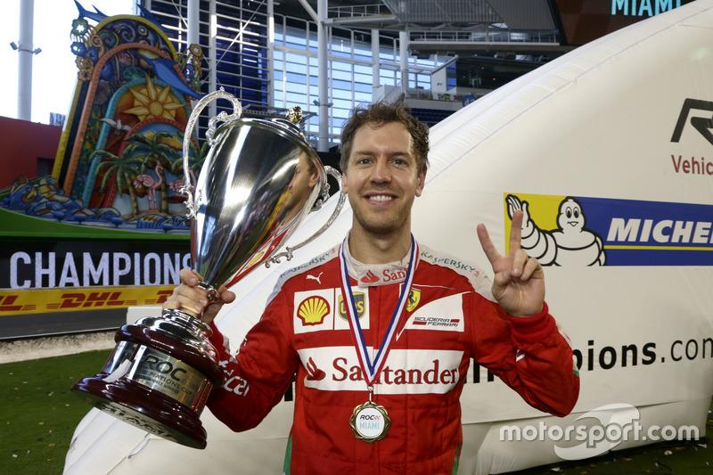 Ganador de la Copa de Naciones, Sebastian Vettel