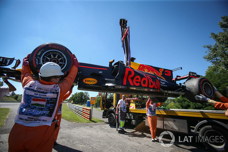 Auto von Daniel Ricciardo, Red Bull Racing RB13