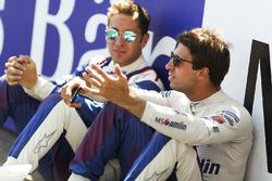 Antonio Felix da Costa, Amlin Andretti Formula E Team, en Robin Frijns, Amlin Andretti Formula E Team