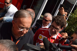 Mattia Binotto, Scuderia Ferrari, Sergio Marchionne, Presidente Ferrari e CEO di Fiat Chrysler Automobiles