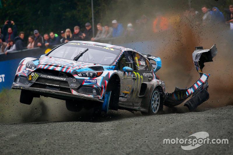 2. Andreas Bakkerud, Hoonigan Racing Division Ford