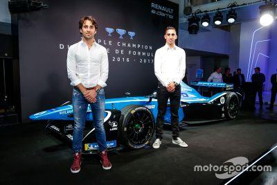 Renault e.Dams livery unveil