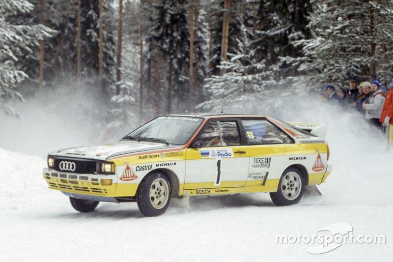 Stig Blomqvist, Bjorn Cederberg, Audi Quattro A2