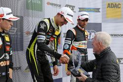 Подіум новачків: переможець Ландо Норріс, Carlin Dallara F317 Volkswagen