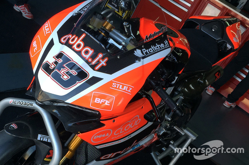 Bike von Marco Melandri, Aruba.it Racing - Ducati