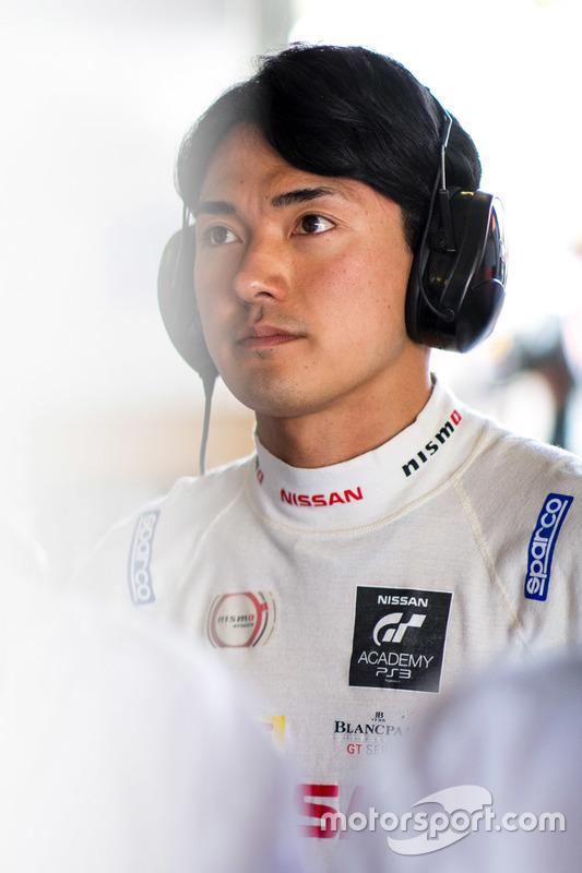 #23 Nissan Motorsport, Nissan GT-R Nismo GT3: Katsumasa Chiyo