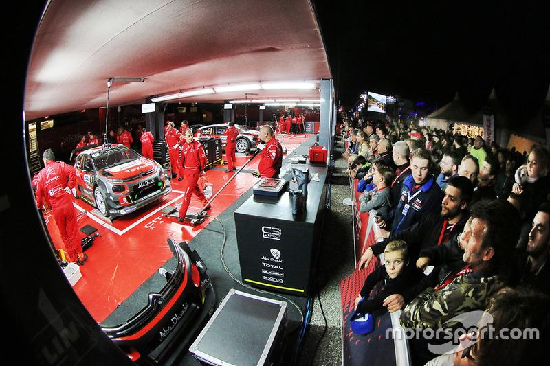 Citroën World Rally Team, Team-Bereich
