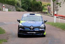 Philippe Broussoux, Jessica Cornuz, Renault Clio R3T Trophy