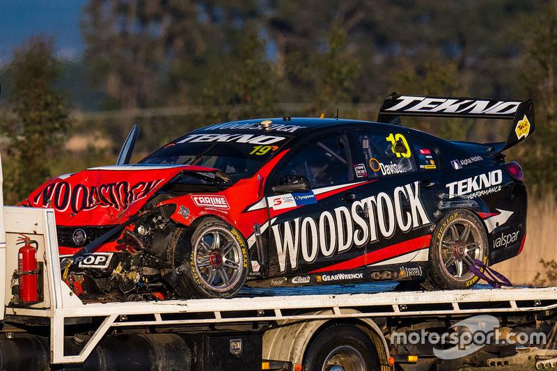 Unfallauto von Will Davison, Tekno Autosports, Holden