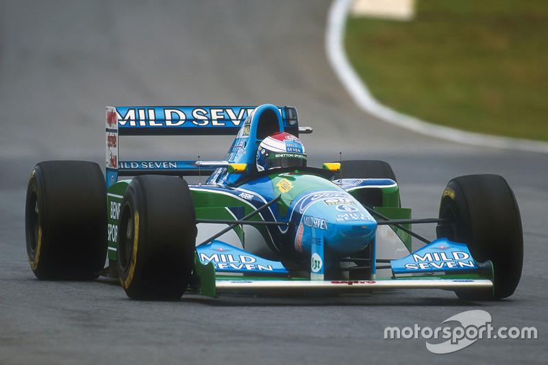 Jos Verstappen Benetton B194 Ford