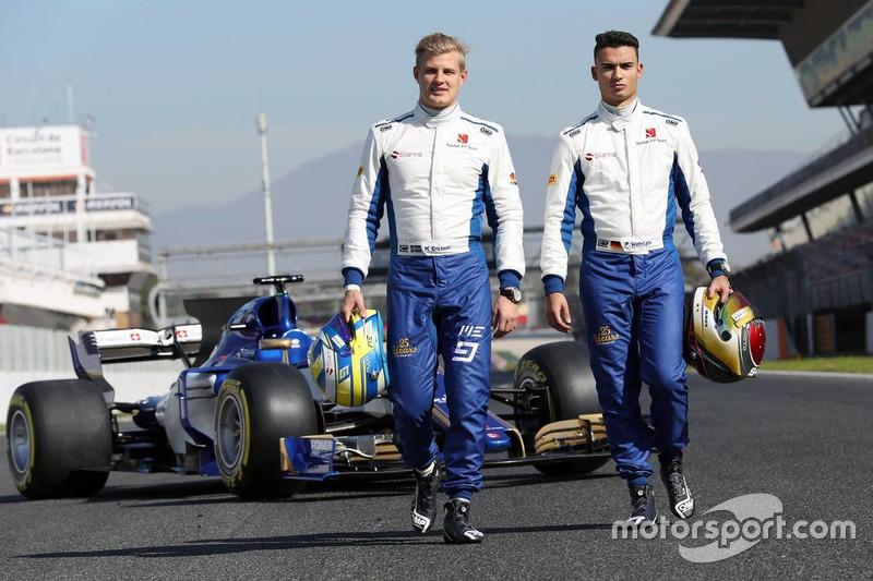 Marcus Ericsson, Sauber; Pascal Wehrlein, Sauber
